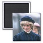 No.67 princesa Diana Nottingham 1985 Imán Para Frigorifico