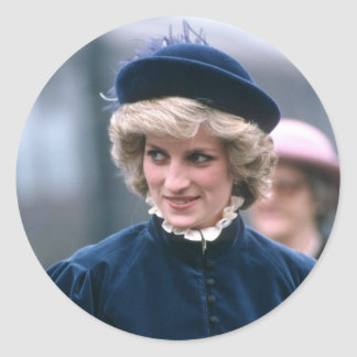 No.67 princesa Diana Nottingham 1985 Etiqueta Redonda