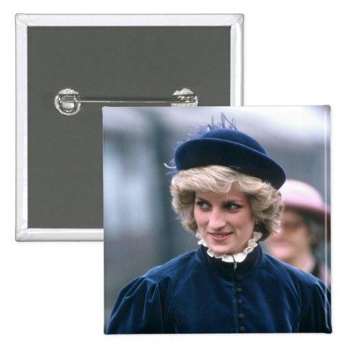 No.67 princesa Diana Nottingham 1985 Pin