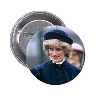 No.67 Princess Diana Nottingham 1985 Pinback Button