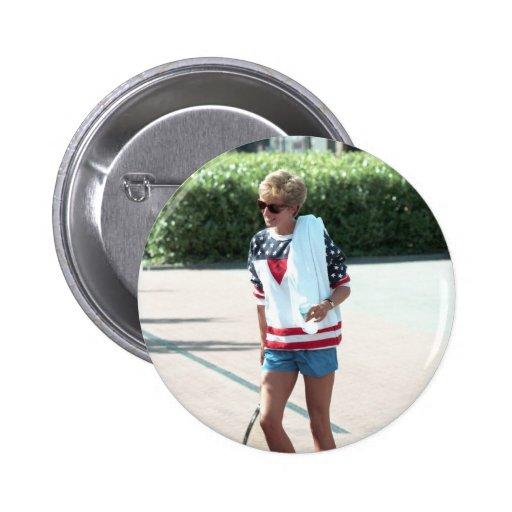 No.68 Princess Diana London 1994 2 Inch Round Button