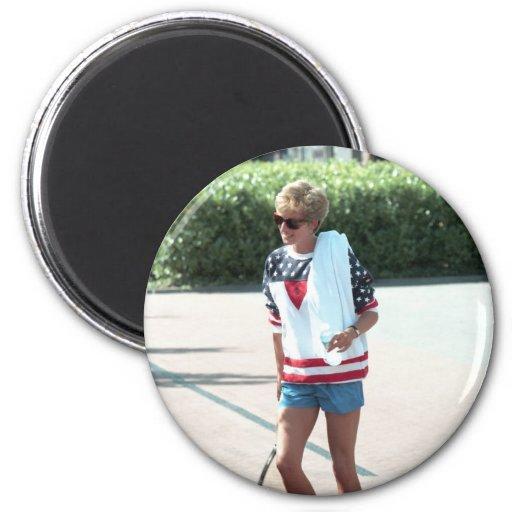 No.68 Princess Diana London 1994 2 Inch Round Magnet