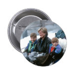 No.69 William, Diana and Harry Lech 1993 2 Inch Round Button