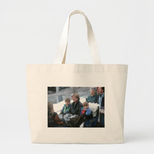 No.69 William, Diana and Harry Lech 1993 Jumbo Tote Bag