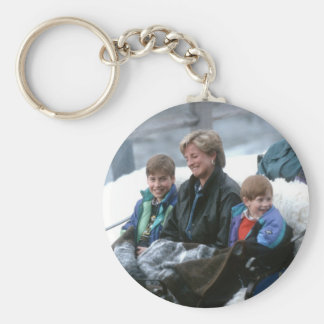 No.69 William, Diana and Harry Lech 1993 Keychain