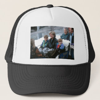 No.69 William, Diana and Harry Lech 1993 Trucker Hat