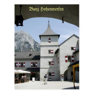 No.6 Burg Hohenwerfen Austria Postales