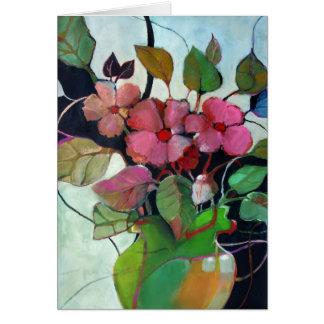 No. 6 del florero • Michelle Abrams - tarjeta