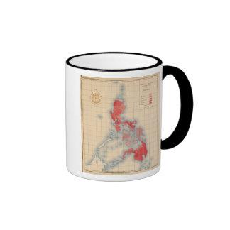 No 6 Distribution Temblores Signs Ringer Coffee Mug