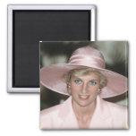 No.70 princesa Diana el Camerún 1990 Imán Cuadrado