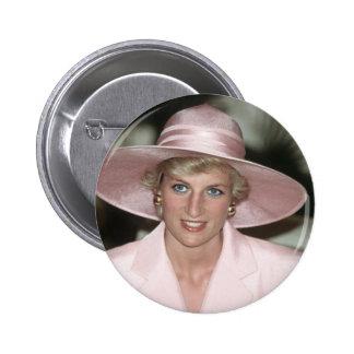 No.70 Princess Diana Cameroon 1990 Pinback Button