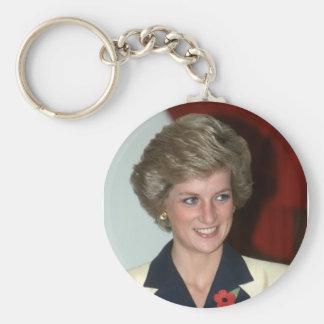 No.71 Princess Diana Hong Kong 1989 Key Chains