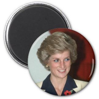 No.71 Princess Diana Hong Kong 1989 Fridge Magnets