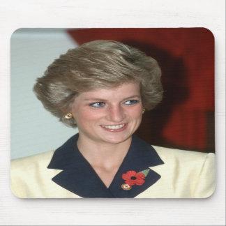 No.71 Princess Diana Hong Kong 1989 Mousepad