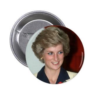 No.71 Princess Diana Hong Kong 1989 Pinback Button