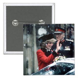 No.73 princesa Diana Cambridge 1985 Pins