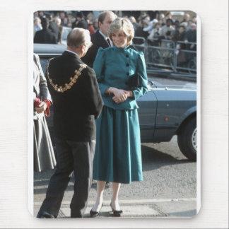 No.74 princesa Diana Croydon 1983 Alfombrillas De Ratones