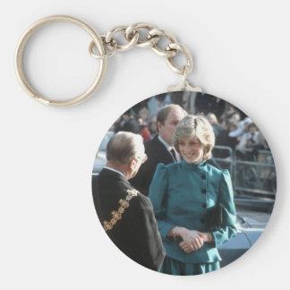 No.74 Princess Diana Croydon 1983 Key Chain