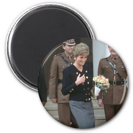 No.75 princesa Diana Guards Chapel 1991 Imanes Para Frigoríficos