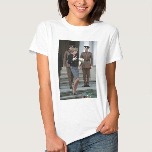 No.75 Princess Diana Guards Chapel 1991 T Shirts