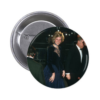 No.76 Princess Diana 'Amadeus' 1985 Pinback Button