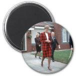 No.77 princesa Diana Chartham 1990 Imanes