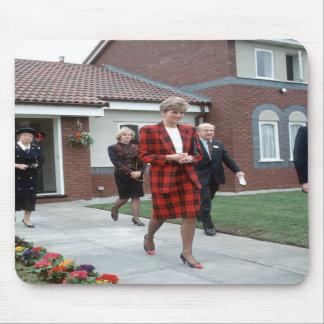 No.77 Princess Diana Chartham 1990 Mouse Mat
