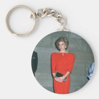 No.79 princesa Diana Melbourne 1985 Llavero Redondo Tipo Pin