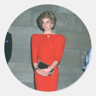 No 79 princesa Diana Melbourne 1985 Etiqueta