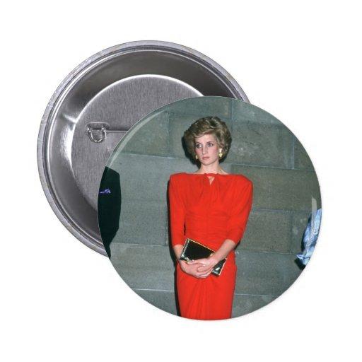 No.79 princesa Diana Melbourne 1985 Pin
