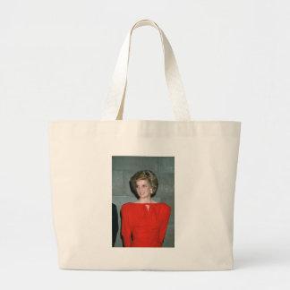 No 80 princesa Diana Melbourne 1985 Bolsas Lienzo