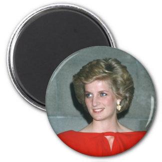 No.80 Princess Diana Melbourne 1985 2 Inch Round Magnet