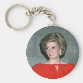 No.80 Princess Diana Melbourne 1985 Key Chain