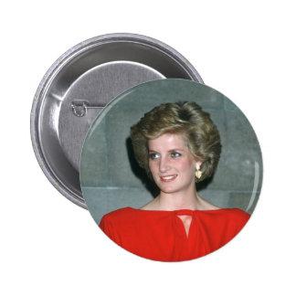 No.80 Princess Diana Melbourne 1985 Pinback Button