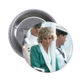No.82 Princess Diana Sydney 1988 Pinback Button