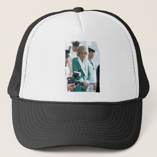 No.82 Princess Diana Sydney 1988 Trucker Hat