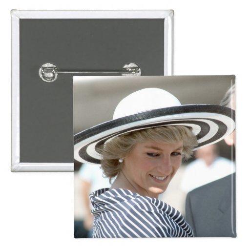 No.83 princesa Diana Sydney 1988 Pins