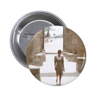 No.84 Princess Diana Luxor Egypt 1992 Button