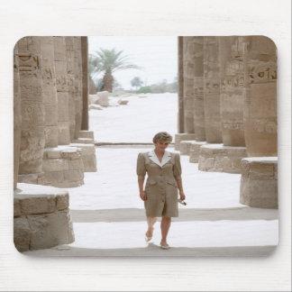 No.84 Princess Diana Luxor Egypt 1992 Mouse Pads