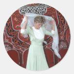 No.85 princesa Diana El Cairo 1992 Pegatina Redonda