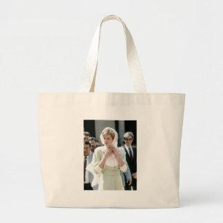 No 86 princesa Diana El Cairo 1992 Bolsa Lienzo