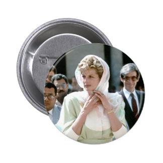 No.86 Princess Diana Cairo 1992 Button