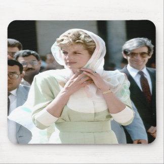 No.86 Princess Diana Cairo 1992 Mousemats
