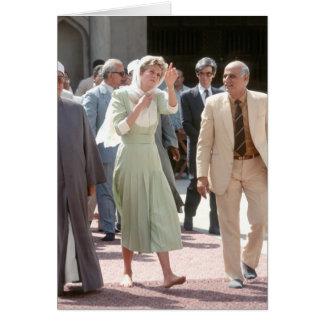 No.88 princesa Diana El Cairo 1992 Tarjeta De Felicitación