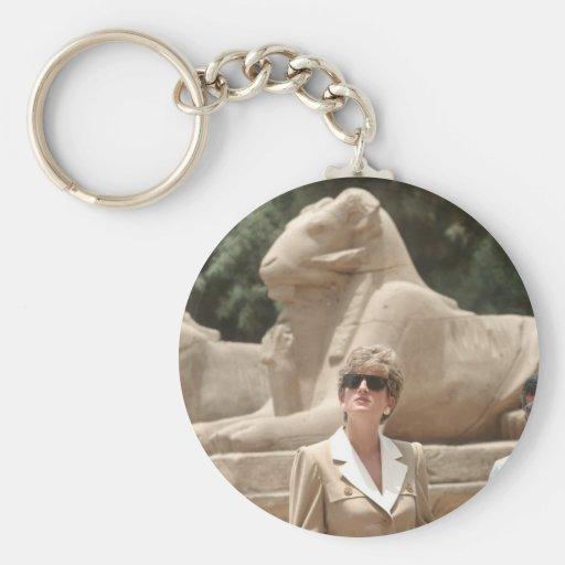 No.89 princesa Diana Luxor 1992 Llavero Redondo Tipo Pin