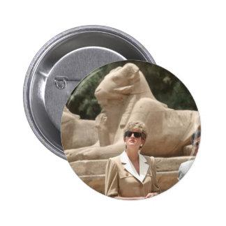 No.89 Princess Diana Luxor 1992 Button