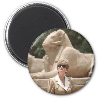 No.89 Princess Diana Luxor 1992 Magnet