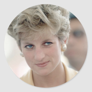 No.90 Princess Diana Egypt 1992 Classic Round Sticker