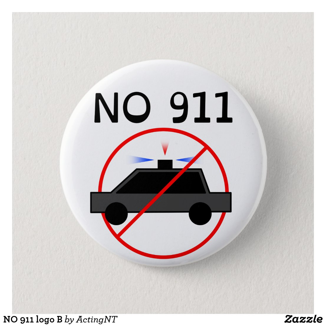 NO 911 logo B Button