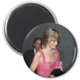 No.91 Princess Diana London 1983 2 Inch Round Magnet